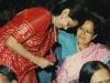 at navdeep prathisthan award, taking blessing from Dr. Pradeepta Ganguly