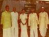 Sangeet visharad Prize ceremony With Shri Laljibhai Chauhan,Shri Babubhai AndhariaShri Raojibhai Patel,Shri hemalbhai Shah